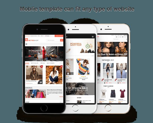 Virtuemart Mobile Template | Joomla Virtuemart Mobile Store