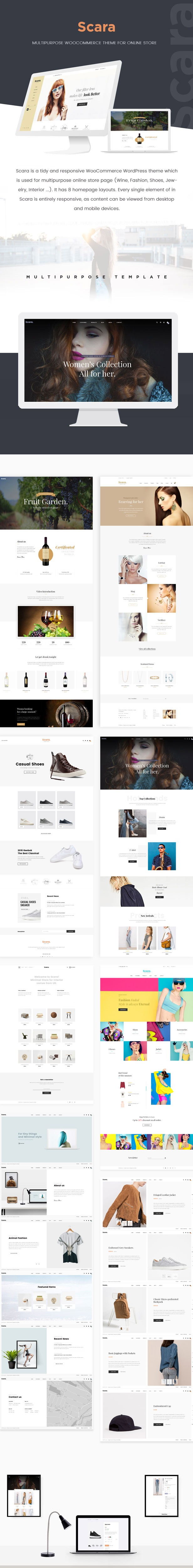 SCARA - Multipurpose WooCommerce Theme for Online Store