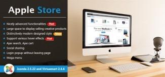 Virtuemart Apple Store Template