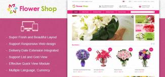 Magento Responsive Flower Theme