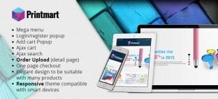 Joomla Virtuemart Responsive Printing Company Template