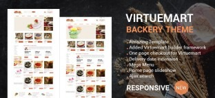 Joomla Bakery Virtuemart Template