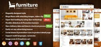 Joomla Furniture Virtuemart Template
