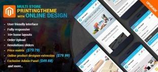 Magento Printing Website Theme