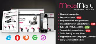 Mega | Multipurpose Responsive Virtuemart Template