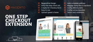 Responsive Magento One Step Checkout Extension